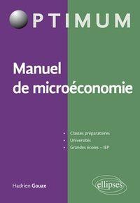 Manuel De Microeconomie Hadrien Gouze Microeconomie Science Economique Analyse Financiere