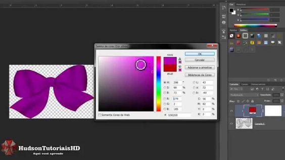 Como trocar a cor de imagem Adesivos de unhas