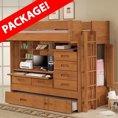 Best Loving The Full Size Bed Up Top And Storage Closet 400 x 300