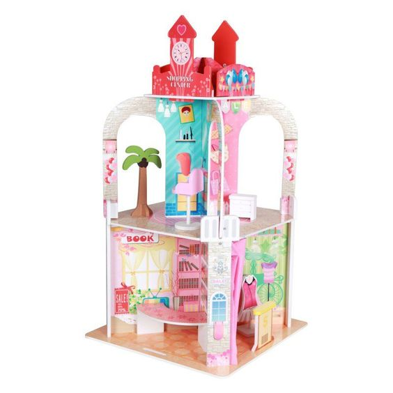 Teamson Kids Shopping Center Doll House - TD-11135A