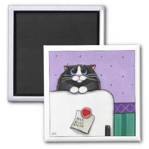 Don't Forget - Cat Magnet http://www.zazzle.com/dont_forget_cat_magnet-147696457011981645?rf=238282136580680600