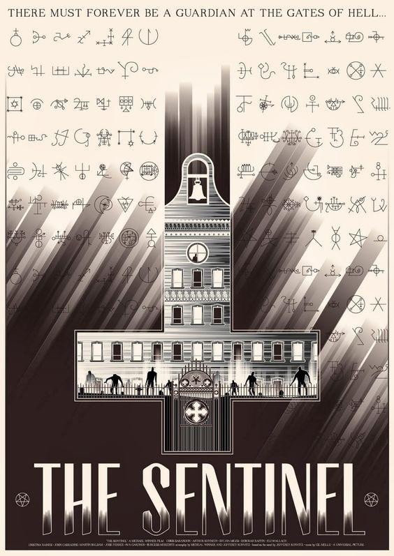 THE+SENTINEL+-+American+Fan+Poster+by+Marinko+Milosevski+1.jpg (1132×1600)