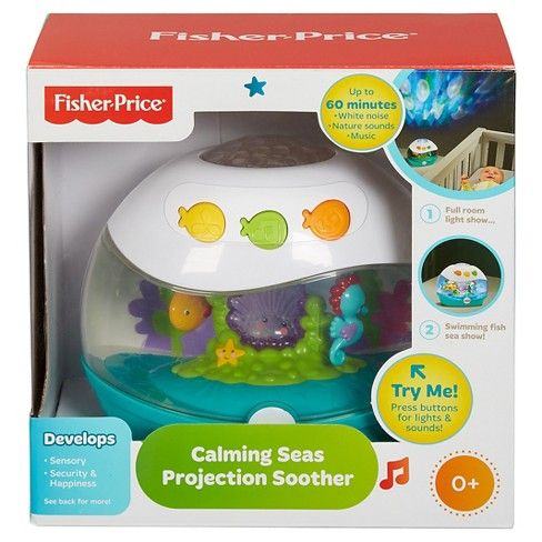 Fisher Price Calming Seas Projection Soother Baby Bryan