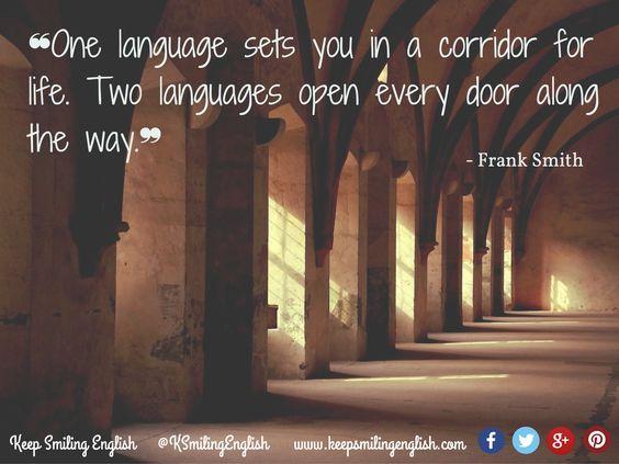 language corridor quote. Smith