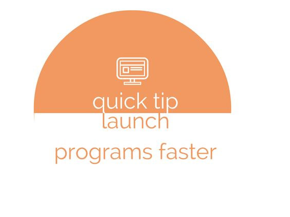 Techode& Pie: Quick tip: Launch programs faster #windows #shortcuts