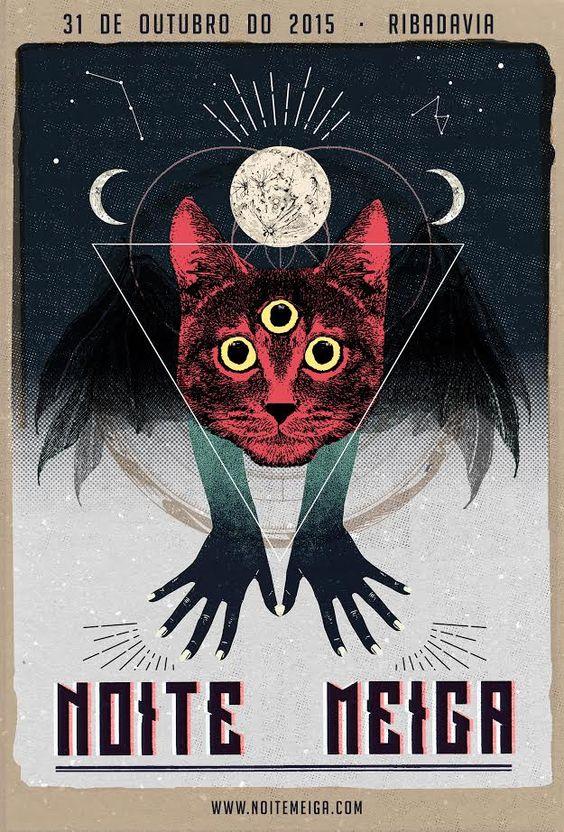 Noite Meiga. Poster 2015 [[MORE]]