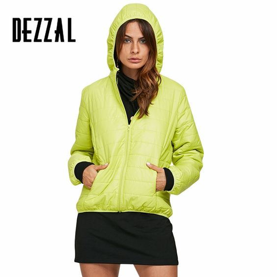 40% off just for a day in one ywar,Find More Down & Parkas Information about DEZZAL Hooded padded short ultra duck down coat for women Casual warm winter 2016 parka feather wadded jacket snow coat female,High Quality coat vest,China coat hangers padded Suppliers, Cheap pad ink from AZULINA Store on Aliexpress.com