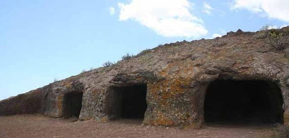 Visitando el Yacimiento de las cuatro puertas (Gran Canaria)