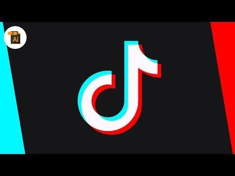 Illustrator Blend Modes Are Awesome Tik Tok Logo Logo Design Tutorial Graphic Design Tutorials Design Tutorials