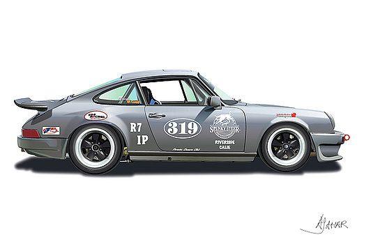 Gunter Lennartz By Alain Jamar Vintage Porsche Hot Rods Cars Muscle Retro Cars
