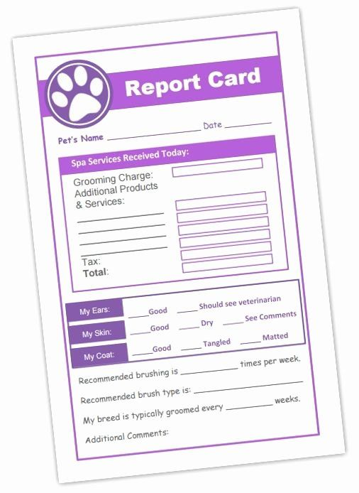 Doggy Report Card Template Elegant 17 Best Dog Business Ideas On Pinterest Report Card Template Daycare Business Plan Business Plan Template