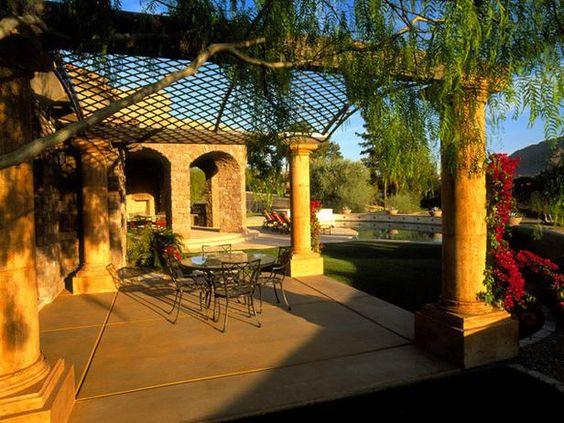 10 Mediterranean-Inspired Outdoor Spaces : Home Improvement : DIY Network