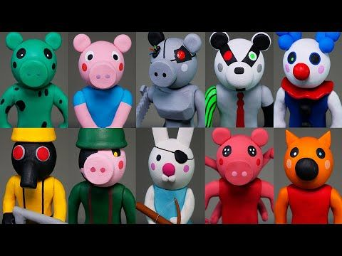 Roblox Happy Birthday Song Youtube Making All Roblox Piggy Characters Part 2 Polymer Clay Tutorial Youtube In 2020 Polymer Clay Tutorial Piggy Clay Tutorials