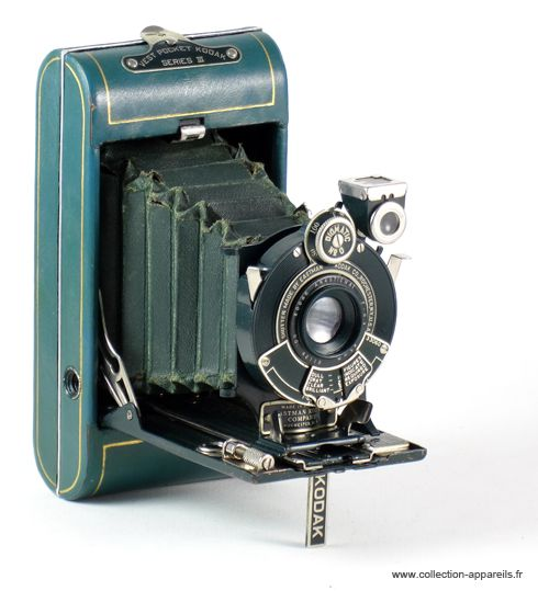 Old Eastman Kodak Vanity Vest Pocket Folding Camera Green Vintagecamera Appareils Photo Vintage Appareil Photographique Appareil Photo Ancien