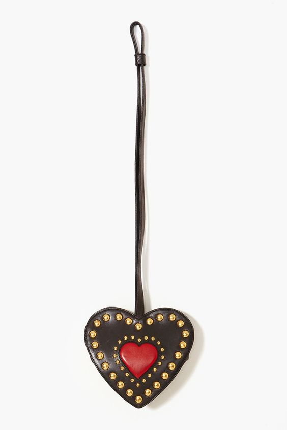 Moschino Studded Heart Bag  $268.00