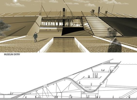 / Grand Egyptian Museum, Design Competition