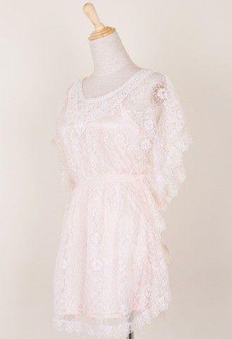 Crochet Sweet Dress by ChicWish