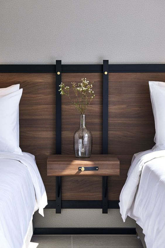 ホテルライク 寝室 インテリア コーディネート例