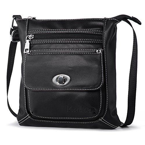 Vegan Crossbody Bag Small Hand Bag for Women Small Leather Crossbody Bag Black for Women Small Shoulder Bag for Women Black