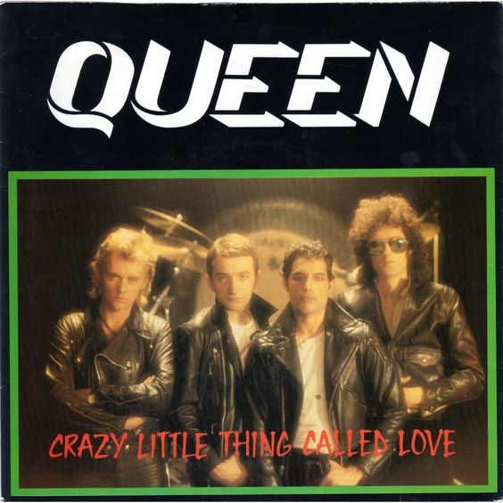 Queen – Crazy Little Thing Called Love (single cover art)
