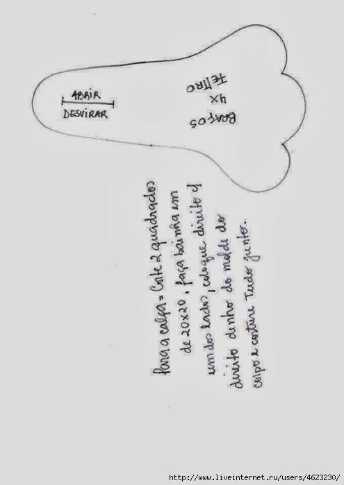 Зайчата и морковка (с выкройками,мастер-классами). Обсуждение на LiveInternet - Российский Сервис Онлайн-Дневников