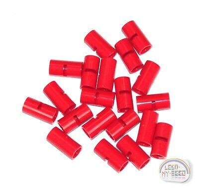 LEGO Technic NXT, EV3, 29219 New - Smooth Red 20 x Pin Connector