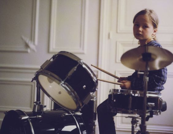 girl drummers are the coolest.