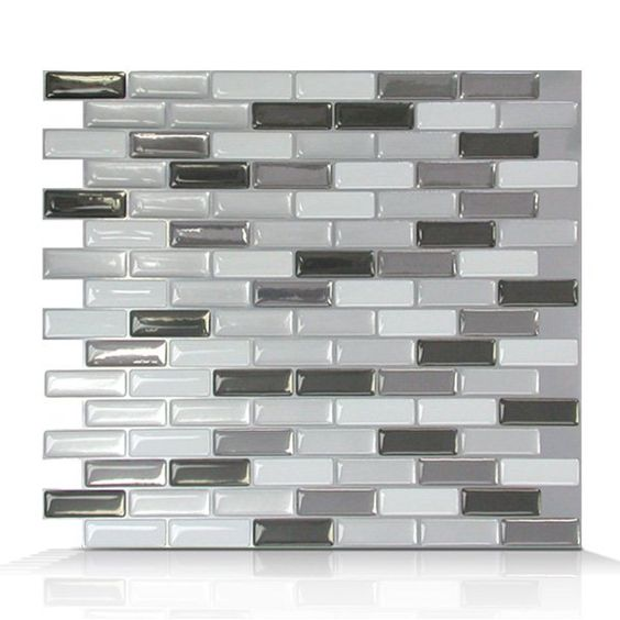 Smart Tiles SM1030 Murano Metallik Self Adhesive Wall Tile at Loweu0027s Canada