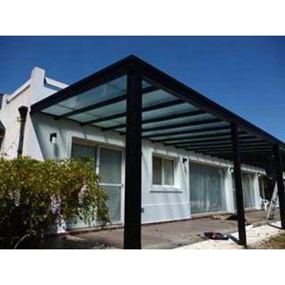 Pergolas de hierro en ca o estructural a medida con techo - Pergolas a medida ...