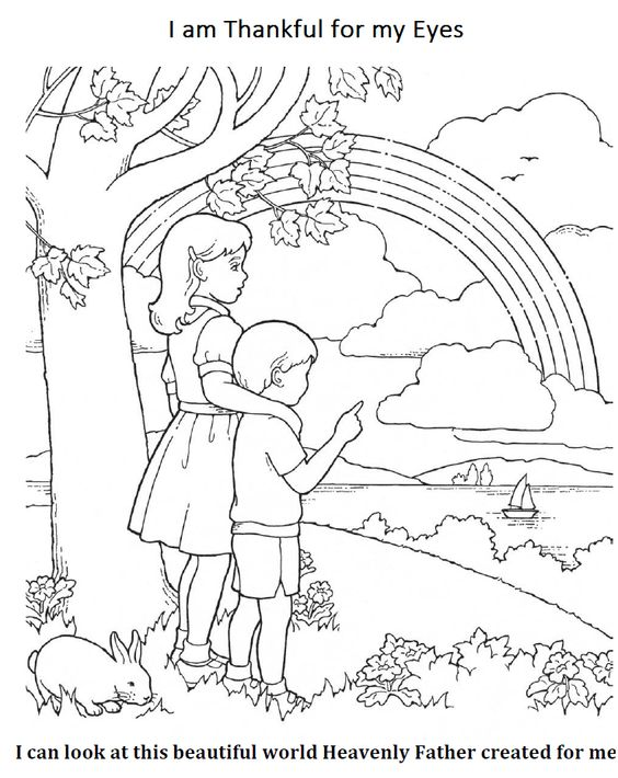 i am thankful coloring pages - photo #27