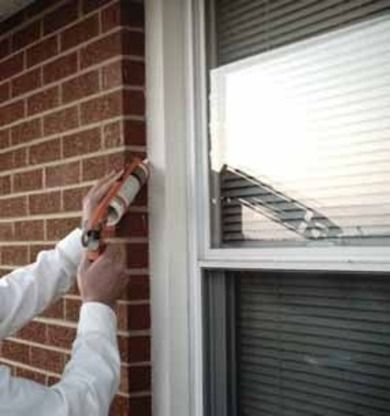 Fall Home Maintenance Tips. Be sure to caulk around windows and doorframes to prevent heat from escaping. Caulking and sealing openings is one of the least expensive maintenance jobs. Openings in the structure can cause water to get in and freeze, resulting in cracks and mold buildup.: