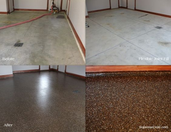 Black Granite Home And Garage Flooring On Pinterest