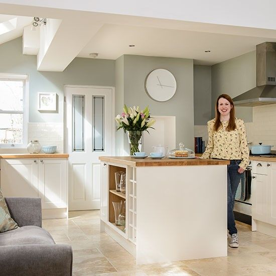 Kitchen-living space | Victorian semi detached | House Tour | PHOTO GALLERY | Style at Home | House to home