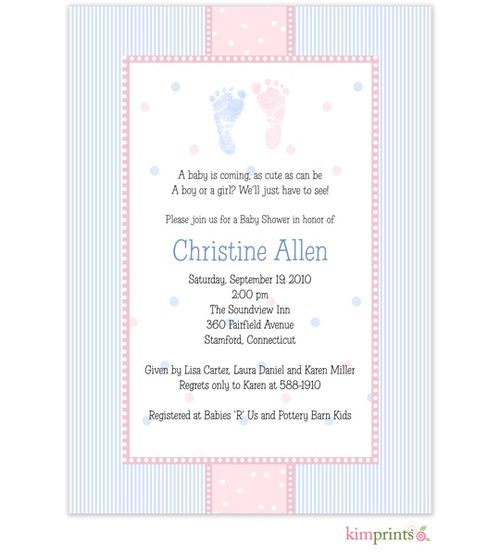 Gender Reveal Party Invitation Wording is an amazing ideas you had to choose for invitation design
