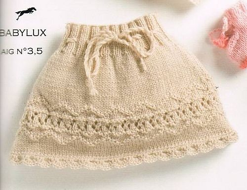 Ravelry: CB13 Skirt n°46 pattern by Cheval Blanc Official: