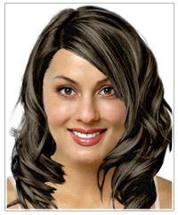 Oval Yüz Şekli için Doğru Uzun Saç Stilleri