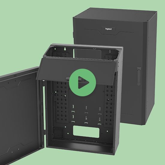 Legrand Vertical Wall Mount Cabinet Video The Vwm And Swm Series Of Wall Mount Network Cabinets From Legrand A Network Cabinet Wall Mounted Cabinet Floor Space