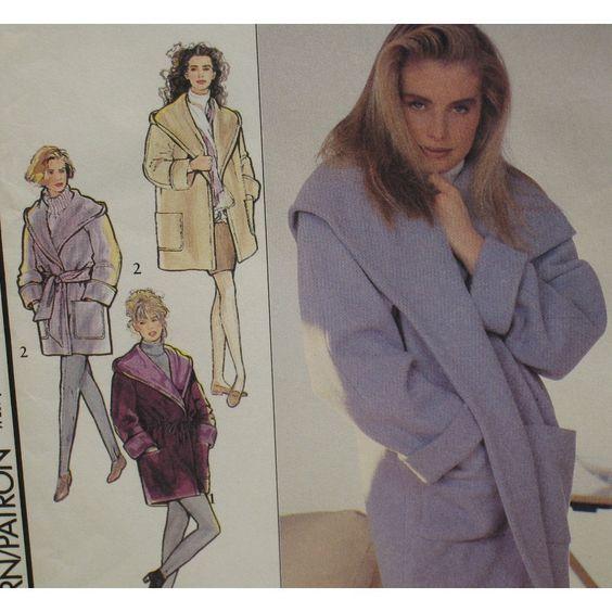 sew a shawl collar wrap coat | Like this item?
