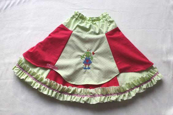 Little Miss Frog skirt Unique