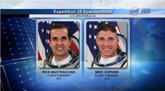 Spacewalk Astronauts