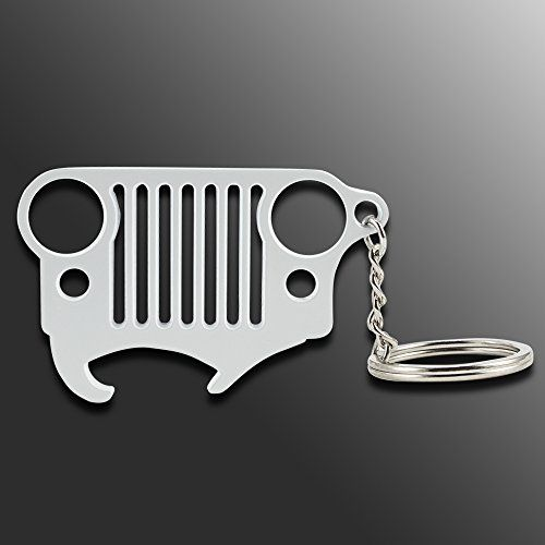 Pinlang Jeep Grill Key Chain Bottle Opener Zinc Alloy Keychain