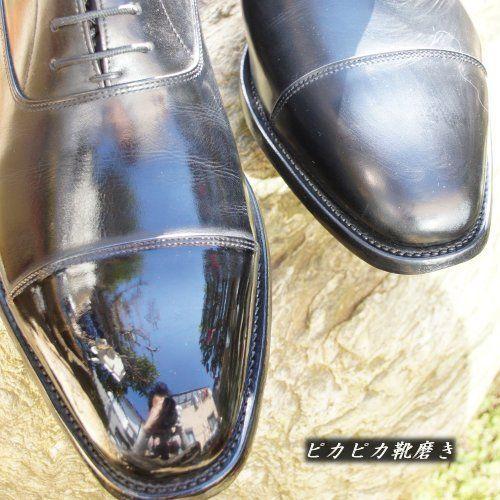 革の凹凸を埋めて鏡面磨きにする ピカピカ靴磨き 花菱hanabishiオーダースーツのデザイン紹介 楽天ブログ 靴磨き ドレスシューズ メンズ ドレスシューズ
