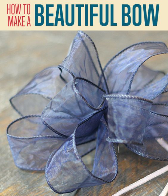 How to tie 3 kinds of bows