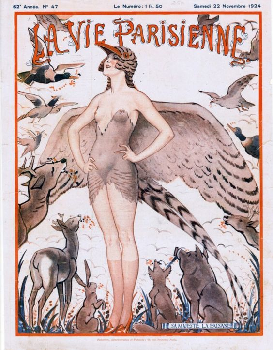 Scrollable Image The first issue of La Vie Parisienne I ever saw. Dated 1917-08-25, I found this beauty tucked away in a little booth in...