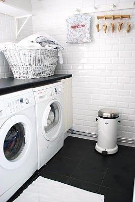 Julias Vita Drömmar: Tvättstuga