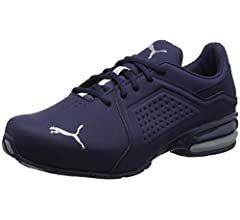 Puma Herren Viz Runner Sneaker, Blau (Peacoat-Quarry), 44 EU ...