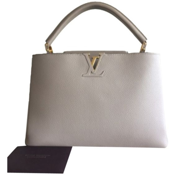 Louis Vuitton Capucine bag - worn by Queen Rania of Jordan: