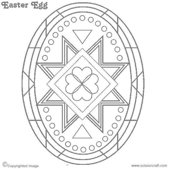 Pysanky Coloring Pages And Other Craft Ideas