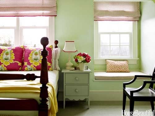 5 Happy Paint Colors   Green trees  Design and I love   house beautiful  bedroom. house beautiful bedroom paint colors   Interior Design Ideas 145
