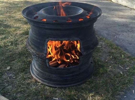 Outdoor Fireplace Welding Project : Something new creativity and welding on pinterest